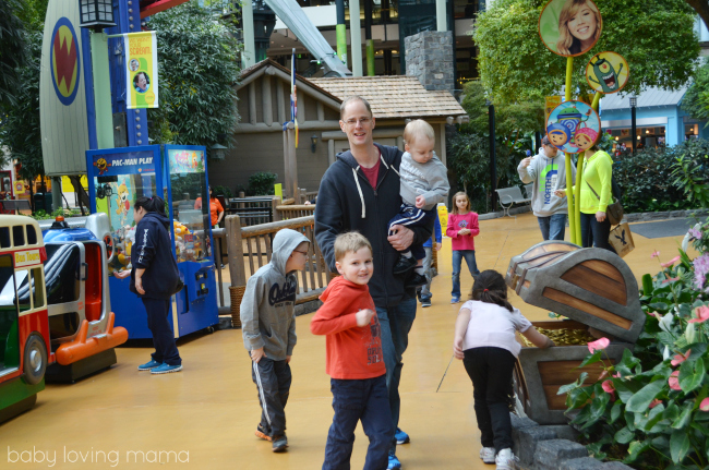 Family Time at Mall of America Nickelodeon Universe