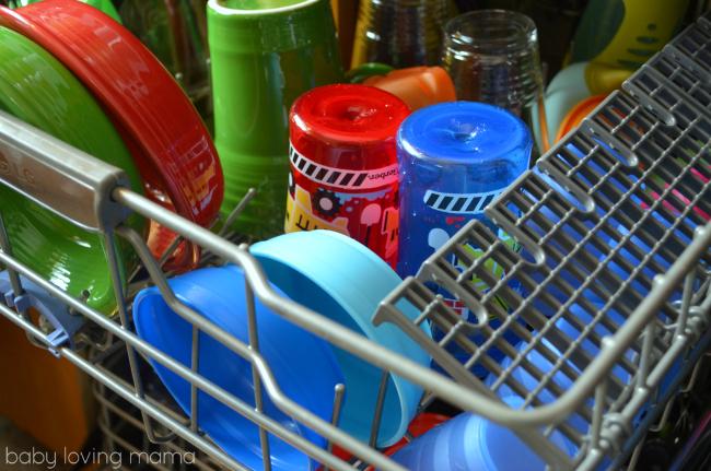 Finish Quantum Gerber NUK Dishwasher