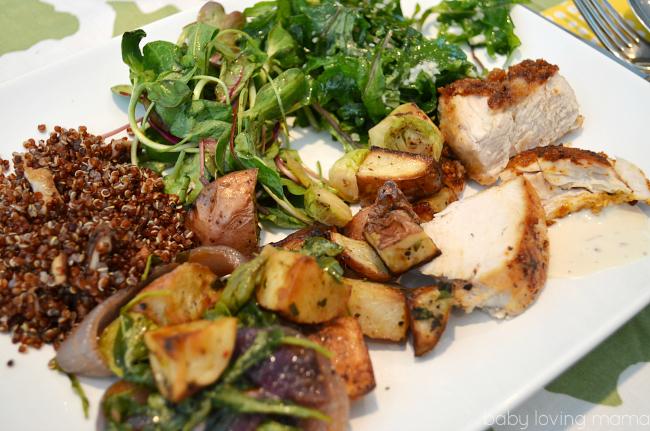 Healthy Organic Dinner at General Mills