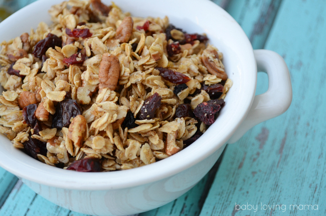 Homemade Berry Granola