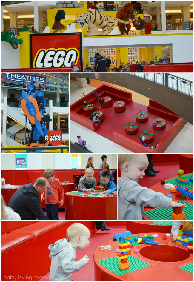 Mall of America Lego Store Fun