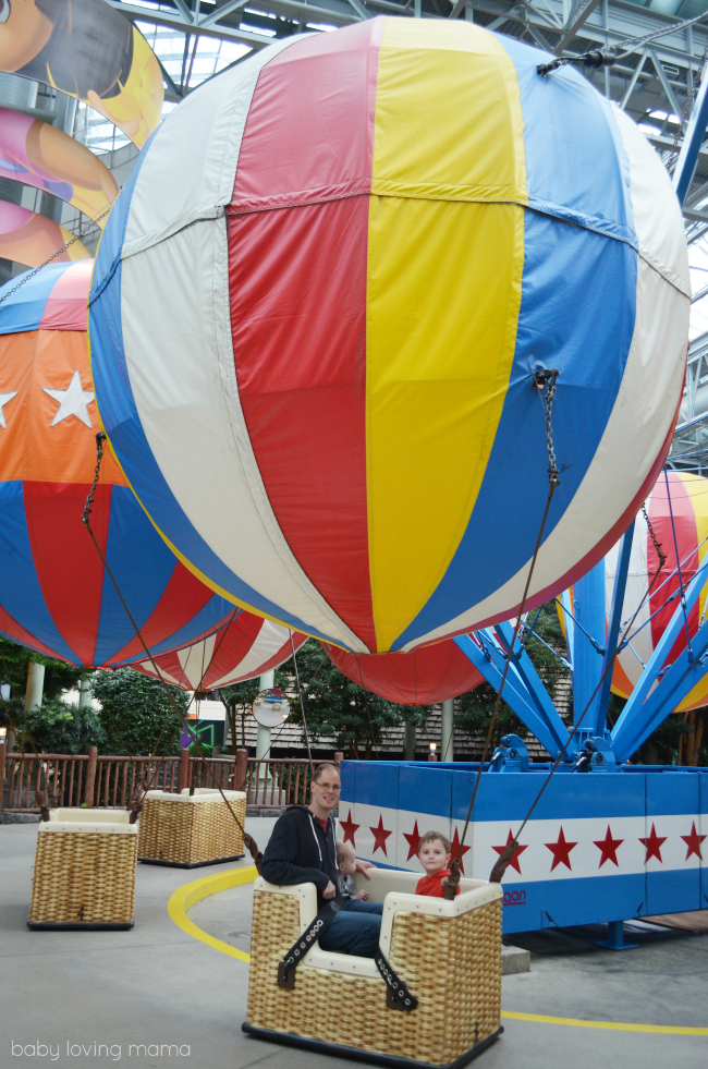 Mall of America Nickelodeon Universe Balloon Race