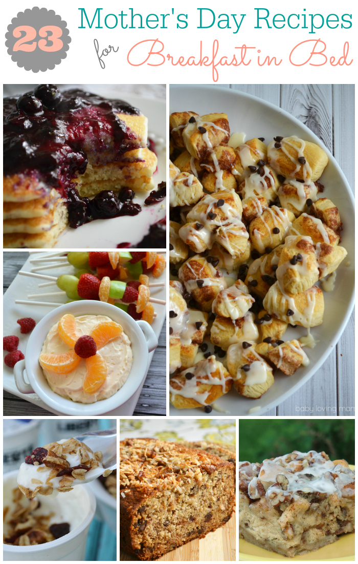 23 breakfast in bed recipe ideas for mother 39 s day for Good ideas for mother s day breakfast in bed