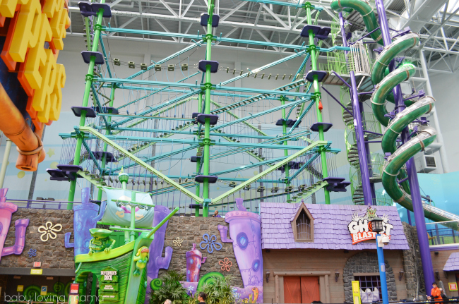 Nickelodeon Universe Mall of America Ghostly Gangplank Overview