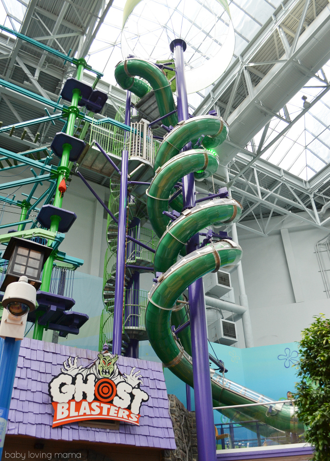 Nickelodeon Universe Mall of America Ghostly Gangplank Slide
