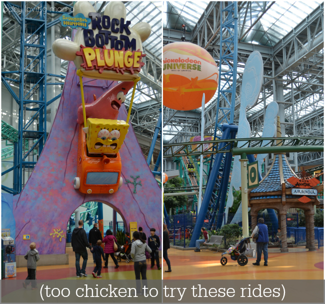 Nickelodeon Universe Mall of America Rock Bottom Plunge Avatar Airbender