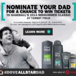Nominate Your Own Dove All-Star Dad #DoveAllStarDad