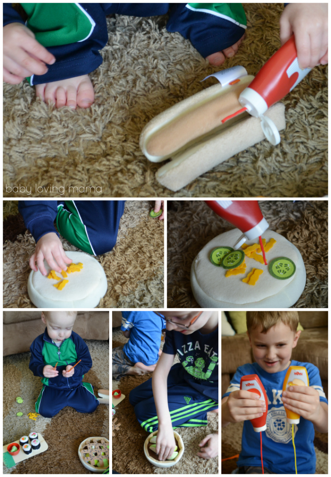 Haba Biofino Playfood Hot Dog Apple Pie Sushi