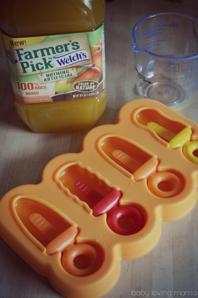Haba Silicone Popsicle Tray Magica Juice