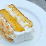 Mango Coconut Poke Cake with Sara Lee #SLSweetTreats