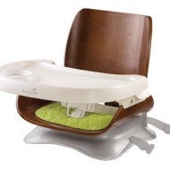New Summer Infant Bentwood Booster Seat + Giveaway