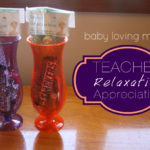 Teacher Relaxation Appreciation Gift Idea