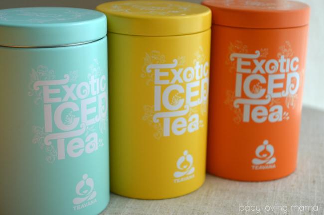 Teavana Exotic Iced Tea Tins