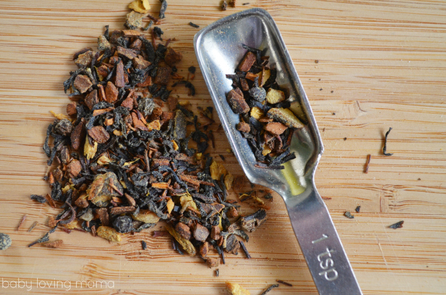 Teavana Oprah Chai Tea Closeup