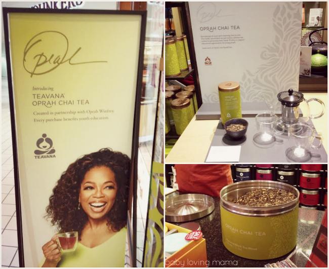 Teavana Oprah Chai Tea in store
