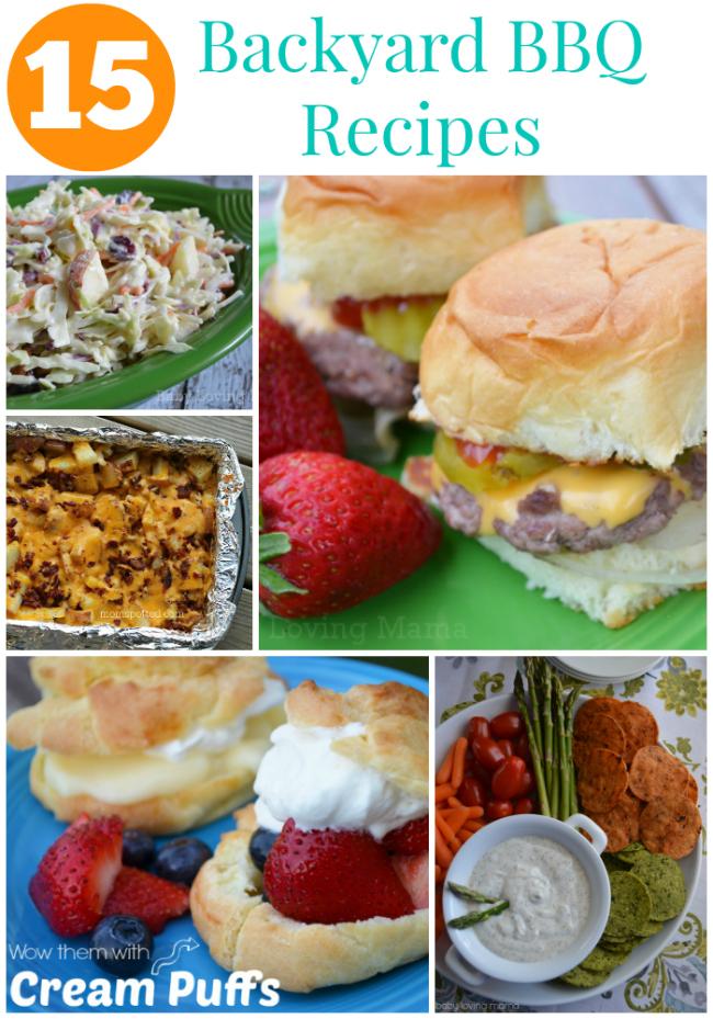 15 Backyard BBQ Recipes