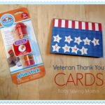 Veteran Thank You Cards : Elmer's Early Learners Craft Tutorial #EarlyLearnersAcademy