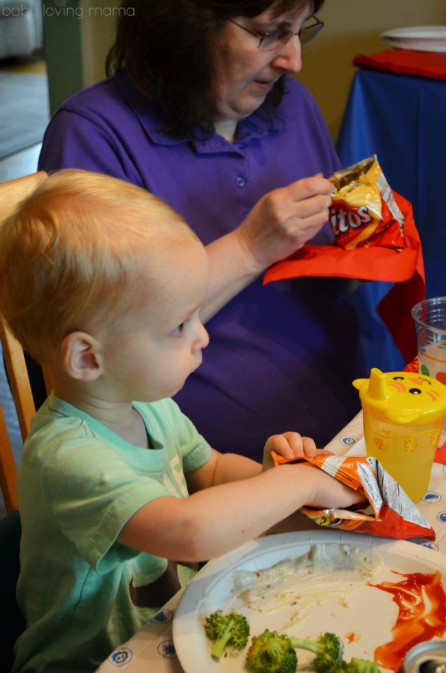 Frito Lay Skylanders Party Eating