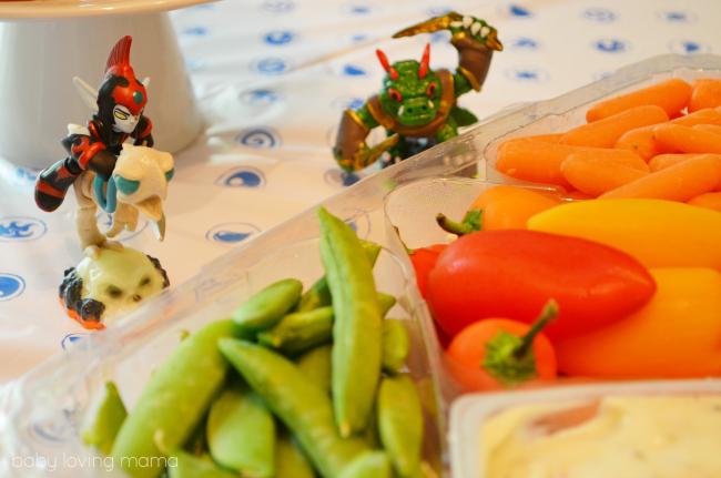 Frito Lay Skylanders Party Veggie Attack