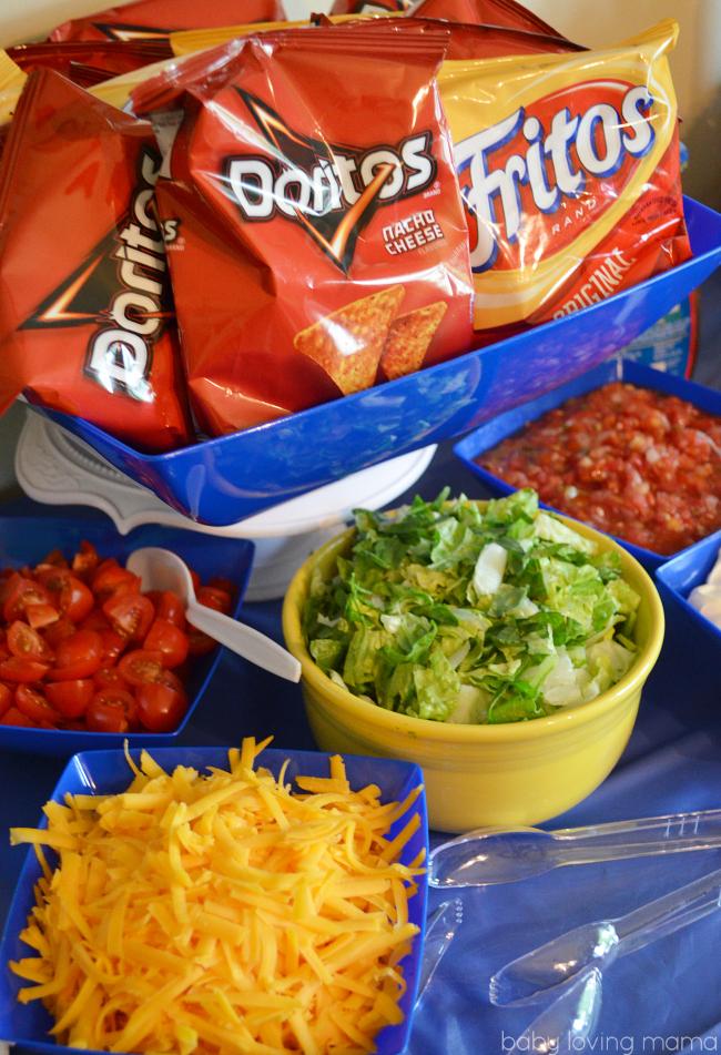 Frito Lay Skylanders Party Walking Tacos