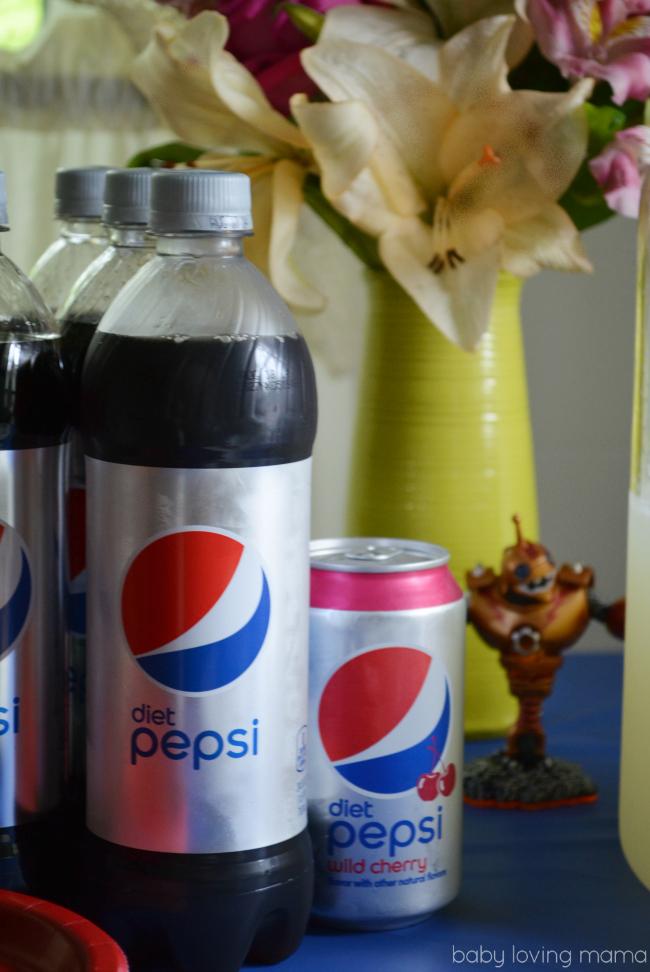 Frito Lay Skylanders and Diet Pepsi