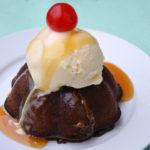 Molten Chocolate Caramel Cake
