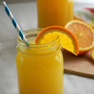 Refreshing Orange Mango Lemonade Punch Recipe