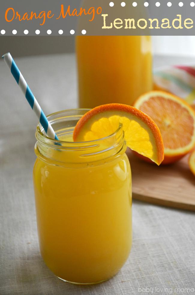 Orange Mango Lemonade
