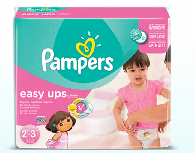 Pampers Easy Ups Photo