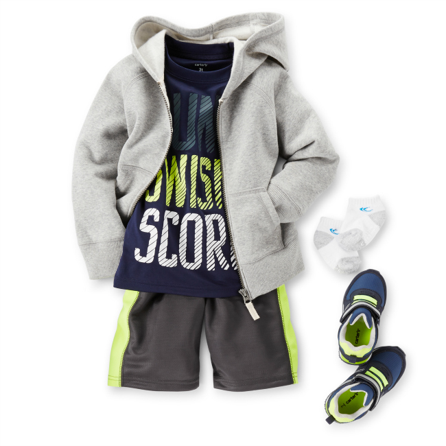 Carters Boys Activeware Dunk Swish Score