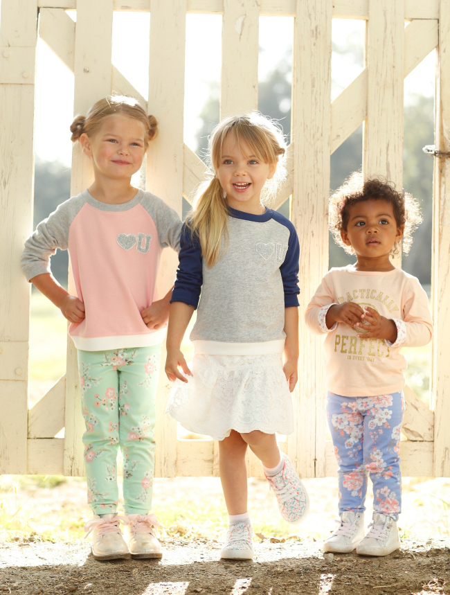 Carters Fall Trends for Girls Tomboy Chic