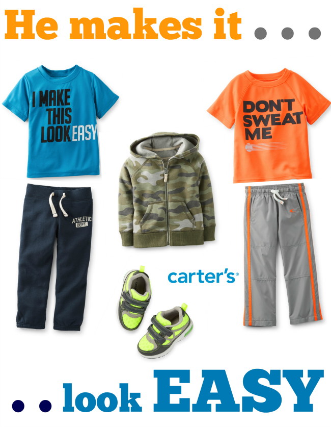Carters He Makes it Look Easy Activewear