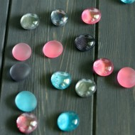 DIY Glitter Magnets : Easy Craft Tutorial