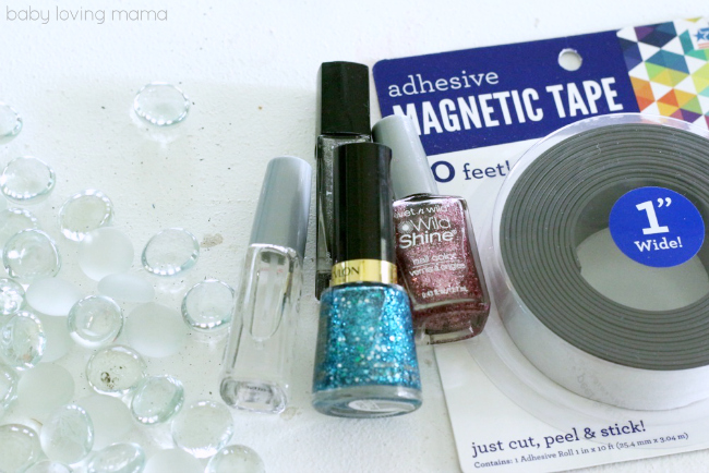how to make homemade glitter nail polish