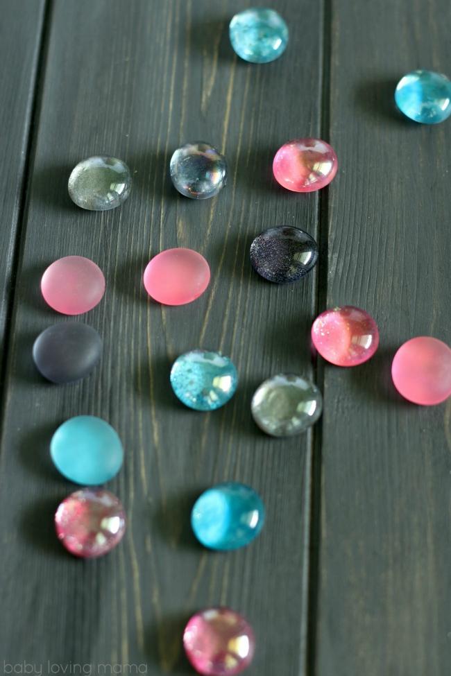 Diy Glitter Magnets Easy Craft Tutorial Finding Zest