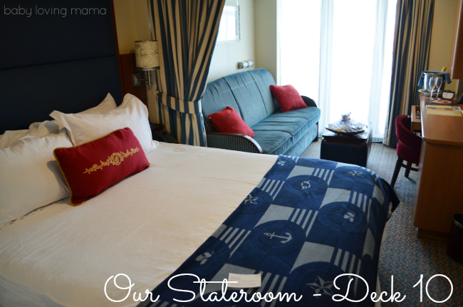 Disney Dream Stateroom Deck 10