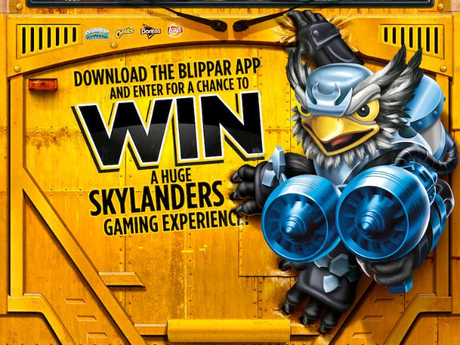 Frito Lay Blippar App Win Skylanders Gaming Experience BTS