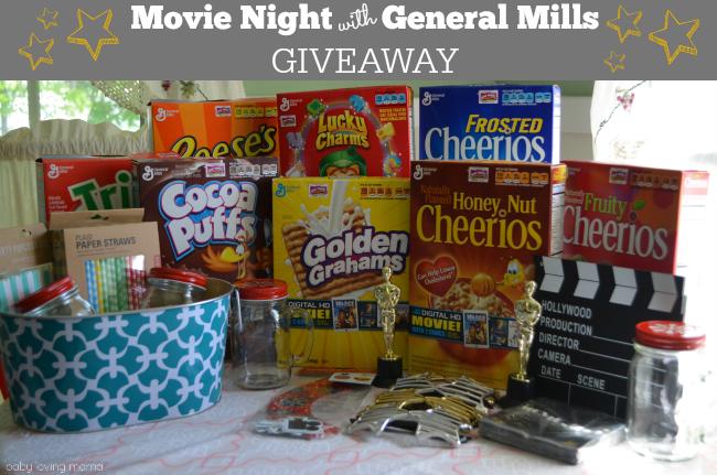 General Mills Movie Night Pack Giveaway