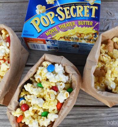 Family Movie Night Popcorn Mix-In Ideas with Pop Secret | Perfect Pop App #PerfectPop #GoodbyeBurnedPopcorn