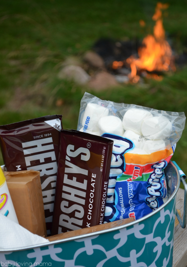 Ready for Smores for Scholastic Summer Reading Under the Stars with EVEREADY