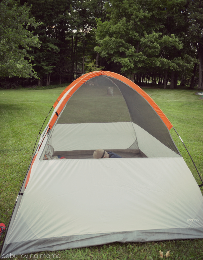 Scholastic Summer Reading Under the Stars with EVEREADY Backyard Tent