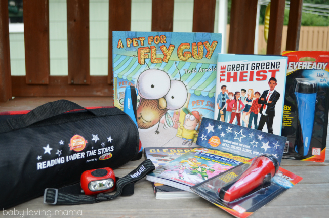Scholastic Summer Reading Under the Stars with EVEREADY Kit