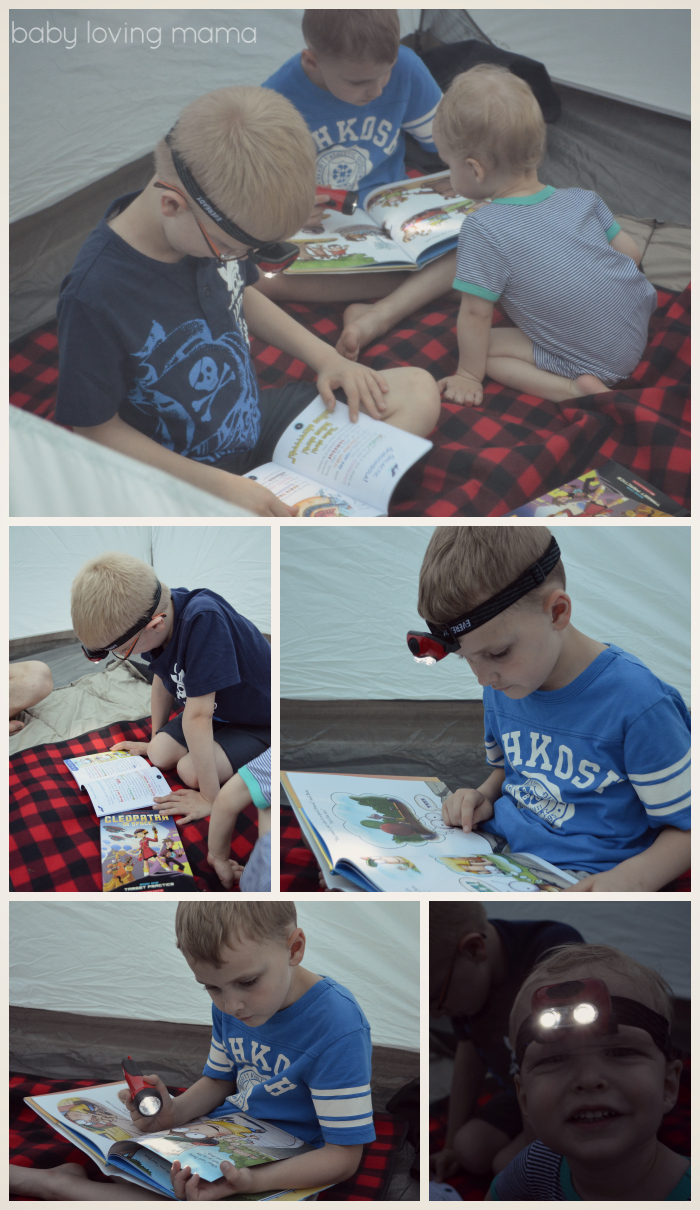 Scholastic Summer Reading Under the Stars with EVEREADY Reading