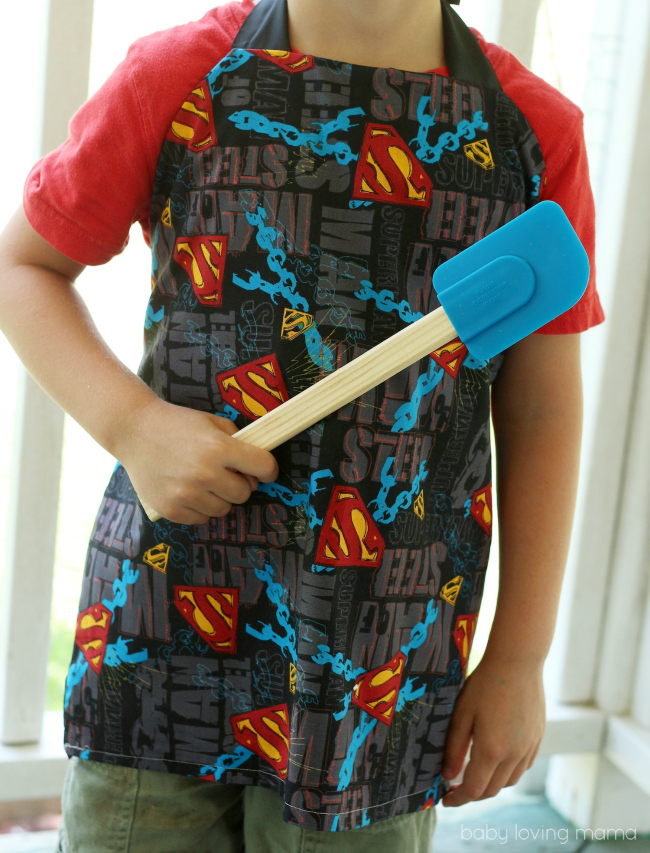 DIY Child Apron Sewing Tutorial