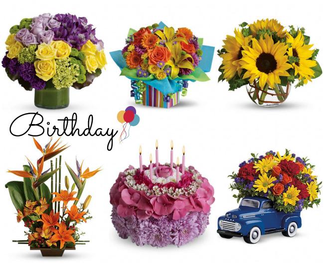 Teleflora Birthday Bouquets