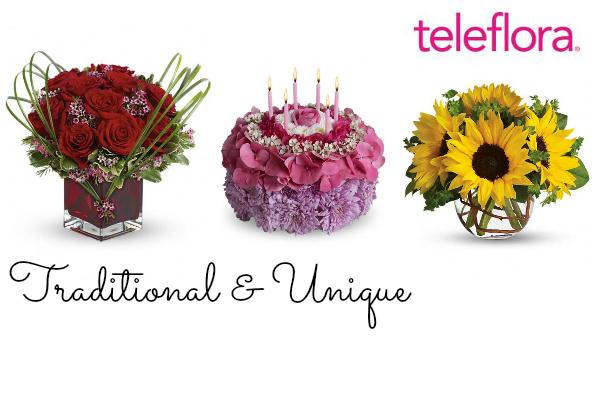 Teleflora Featured Birthday and Anniversary Flowers