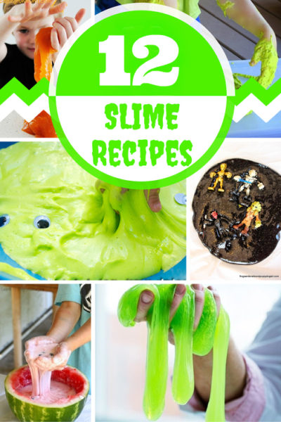 12 Slime Recipes: Making slime is a great way to teach kids about the properties of polymers. Is slime a liquid or a solid? It is tough to tell! Give this kid activity when you are searching for something fun to do with your kids.