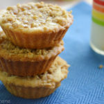 Apple Crumb Cookie Mini-Tarts