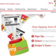 Easier to Save with Cub's Load To Card Program #CubYellowTags!