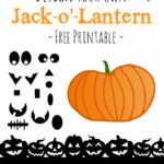 Design Your Own Jack-o'-Lantern for Halloween Free Printable